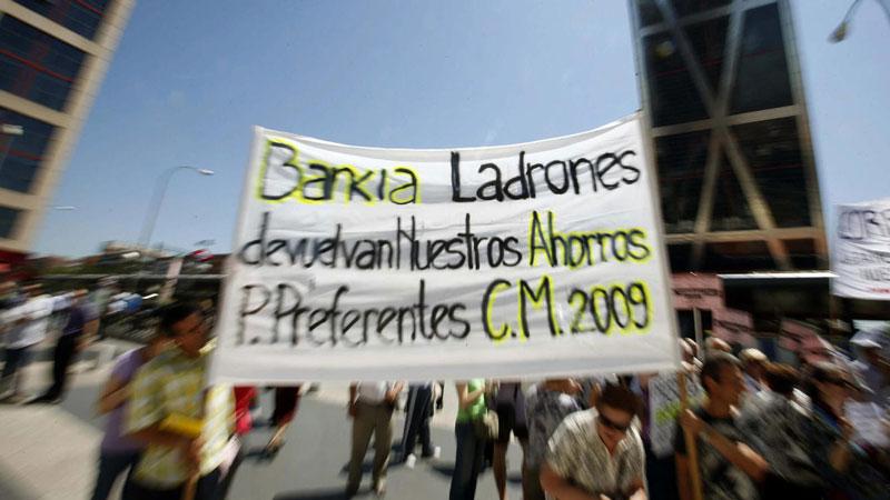 manifestacion afectados bankia