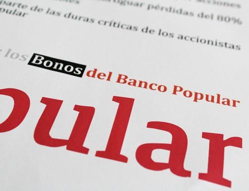 ¿Qué sucederá con los bonos convertibles desde el 25 de noviembre del Banco Popular?