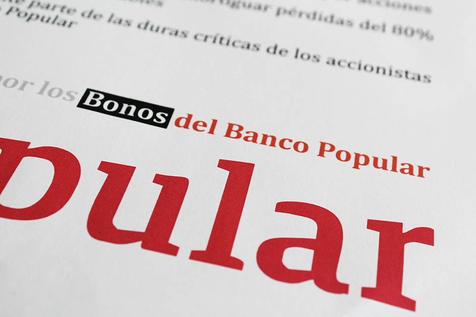 bonos convertibles del banco popular