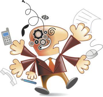estrés laboral o síndrome del quemado