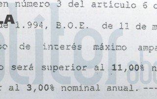 Cl usula suelo abogados calculadora consulta gratis for Clausula abusiva suelo