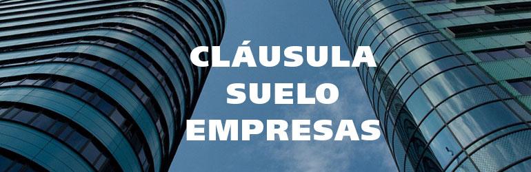 Las empresas tambi n pueden reclamar cl usula suelo c for Reclamar importe clausula suelo