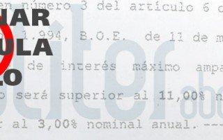 Cl usula suelo abogados calculadora consulta gratis for Reclamar importe clausula suelo