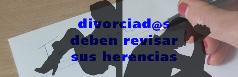 herencias divorciados