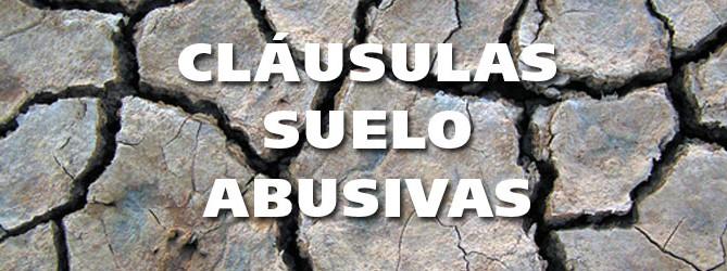 Cl usula suelo en la hipotecas abogados derecho bancario for Abogados para reclamar clausula suelo