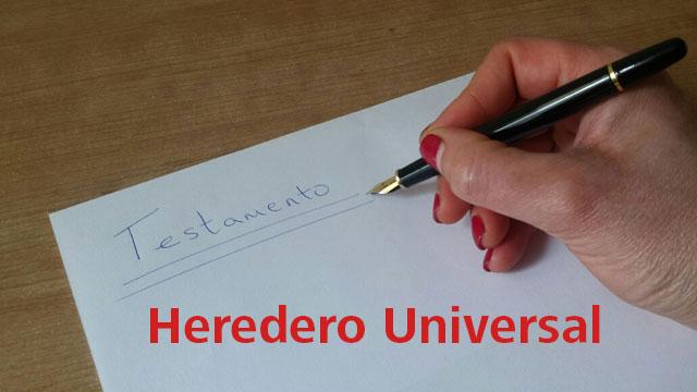 heredero universal