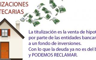 titulizaciones hipotecarias, abogados ejecucion hipotecaria