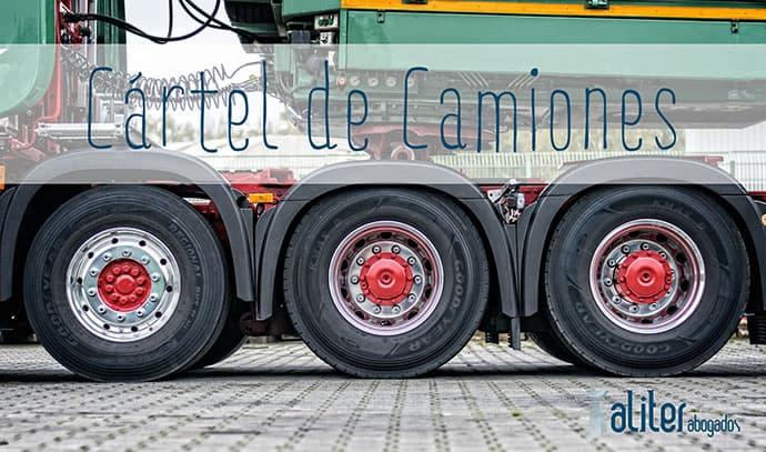 cartel camiones, afectados cartel de camiones