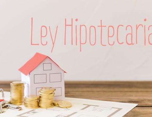 La Ley Hipotecaria