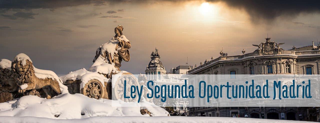 ley segunda oportunidad en madrid